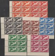 Cameroun 1942 PA N° 12-17  NMH France Libre Bloc De Six BDF   (F7) - Luftpost