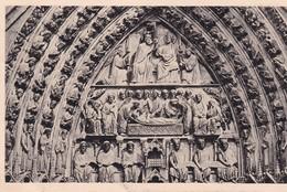 NOTRE DAME DE PARIS. TYMPAN DU PORTAIL DE LA VIERGE. FRANCE-BLEUP - Notre Dame De Paris
