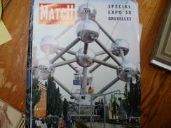 PARIS MATCH Spécial EXPO 58  Bruxelles Hors Série - Journaux - Quotidiens