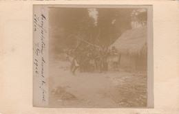 ISSIA           Manifestation Devant La Poste   1906    RARETE - Ivory Coast
