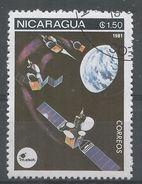 Nicaragua 1981. Scott #1131 (U) Space Communications, Satellites - Nicaragua
