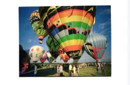 PHOTO DENIS GERMAIN BATTLE-CREEK-MICHIGAN 1981 MONTGOLFIERES  REF 54745 - Fesselballons