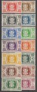 Wallis Et Futuna 1944 N° 133-145  NMH France Libre    (F7) - Wallis-Et-Futuna