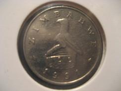 10 1991 ZIMBABWE Coin - Zimbabwe