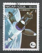 Nicaragua 1981. Scott #1132 (U) Space Communications, Satellites - Nicaragua