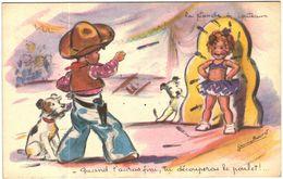 Carte Postale Ancienne De ILLUSTRATEUR BOURET - Bouret, Germaine
