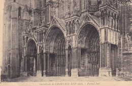 CATHEDRALE DE CHARTES XIIIs, PORTAIL SUD. FRANCE-BLEUP - Chartres