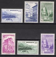 MONACO 1946  - SERIE  Y.T.  N° 275 A 280 -  NEUFS** - Monaco
