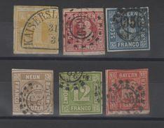 Allemagne _ Baviére Royaume  ( 1861) Série  N°9/14 - Bavière