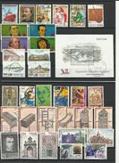 Espagne ANNEE COMPLETE 1991 MAJORITE OBLITERE - Annate Complete