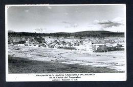 Ecuador. Ciudadela Ingahurco. *Vista Parcial* Circulada 1964. - Ecuador