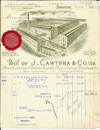 BRADFORD   Bot. Of  J . Cawthra & Co LTD - Royaume-Uni