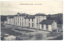 Cpa Gard, Beauvoisin - Les Ecoles - France
