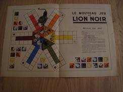 DOCUMENT PUBLICITAIRE LION NOIR - Advertising