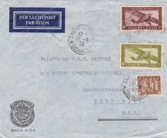INDOCHINE  :  Divers PA Sur Lettre De 1938 Pour Surabaya ( Java ) - Indochine (1889-1945)