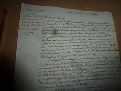 1815 Cour Royale REMARQUE Sur Le Discours Séditieux Qui Ne Sont Pas Tenus Dans Des Lieux Publics; Etc - Manuscrits