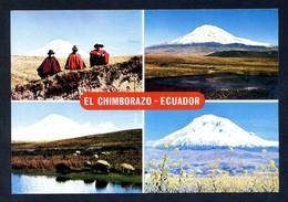 Ecuador. *El Chimborazo. Coloso De Los Andes...* Circulada 1975. - Ecuador