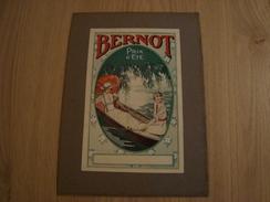 DOCUMENT BERNOT SUR CARTON - Publicités