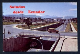 Ecuador. Quito. *Puente A Desnivel A La Entrada Norte De La Ciudad. Al Fondo Mt. Cotopaxi* Nueva. - Ecuador