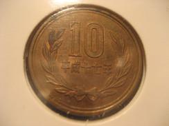 10 JAPAN Coin Nippon - Japan