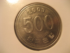 500 2003 JAPAN Coin Nippon - Japan