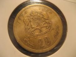 20 1974 MOROCCO Coin Maroc Marruecos - Morocco
