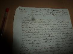1816 Procureur Du ROI Au Juge De Paix ,sur L'art. Du 11 Ventôse De L'an 2 Peut Devenir Facultatif Mais Non Pour ...etc - Manuscrits