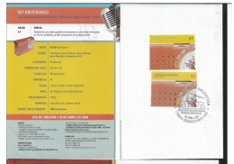 ARGENTINA 2008 The 50th Anniversary Of The Associacion Radiodifusoras Privadas Argentinas, ARPA    BOOKLET - Booklets
