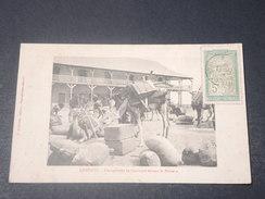 DJIBOUTI - Carte Postale De Djibouti , Chargement De Caravane Devant La Douane, Voyagé En 1910 - L 11180 - Gibuti