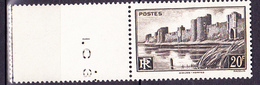 N° 501  Monuments Et Sites: Ramparts D'Aigues Mortes: Un Timbre Neuf Sans Charnière Impeccable - Unused Stamps