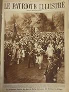 1928 PI 13/5 ENTREE DUC DUCHESSE BRABANT LIEGE PARC BOVERIE ACCLAMATIONS FOULE - Livres, BD, Revues
