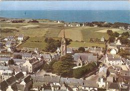 CP Plougasnou Vue Générale Aérienne Le Centre  29 Finistère - Plougasnou