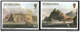 ST HELENA 1976 Views Of St Helena £1, £2 Unmounted Mint - Saint Helena Island