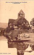 RARE CPA La Vieille Chapelle Des Pénitents à Beaulieu (animée) M1071 - Autres Communes