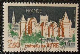 1949 France 1977 Oblitéré  Chateau De Vitré - Gebraucht