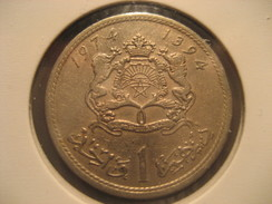 1 1974 MOROCCO Coin Maroc Marruecos - Morocco