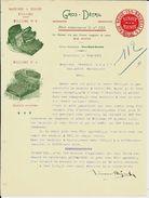 BRUXELLES   Sinave - Mignot  ( Machines à écrire Williams ) 1901 - Imprimerie & Papeterie