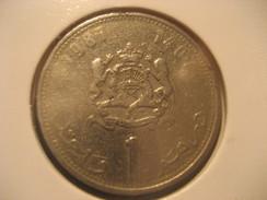 1 1987 MOROCCO Coin Maroc Marruecos - Morocco