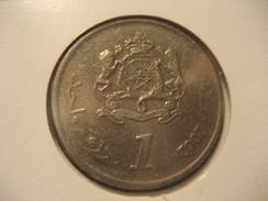 1 2002 MOROCCO Coin Maroc Marruecos - Morocco