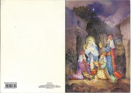 """Christmas  Postcard - Scout Association ,,DIMITAR VLAHOV"""" From Veles Macedonia.. New Year / Bonne Annee . Scouting - Scoutisme"""