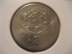 2 2002 MOROCCO Coin Maroc Marruecos - Morocco