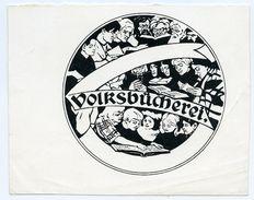 BOOKPLATE : EX LIBRIS - VOLKSBUCHEREI - Bookplates