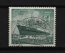 "BERLIN - Mi-Nr. 126 Taufe Des Motorschiffes ""Berlin"" Gestempelt (6) - [5] Berlin"