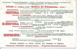 Buvard Iodhydral. Asthme, Cardiopathie, Emphysème, Obésité, Rhumatisme, ...(Médicaments, Pharmacie) - Produits Pharmaceutiques