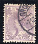 PAYS BAS 1898-1923 O - 1891-1948 (Wilhelmine)