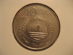 10 Escudos 1994 CAPE VERDE Coin Cap-Vert Cabo Verde - Cape Verde