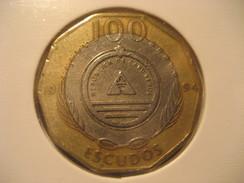 100 Escudos 1994 CAPE VERDE Bimetallic Coin Cap-Vert Cabo Verde - Cap Vert