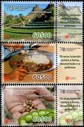 Cape Verde - 2015 - 40 Years Of FAO - Food And Agriculture Organization - Fighting Poverty - Mint Stamp Set - Cape Verde