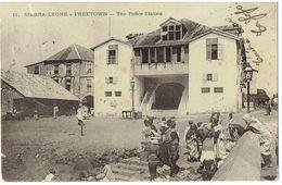 SIERRA-LEONE - FREETOWN - The Police Station - 2 Scans - Sierra Leone