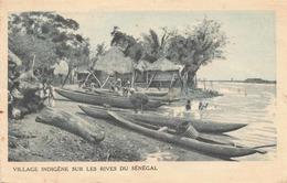 SENEGAL 1931 - Village Indigène Sur Les Rives, 15+25c Frankierung (189+235), Rollenstempel Expo Coloniale Int.Paris - Senegal